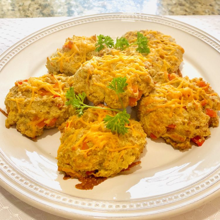 Low Carb Cheezy Biscuits